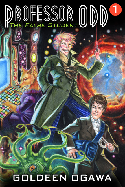 Cover for Professor Odd #1: The False Student. Coming in August 2013 from Heliopause.