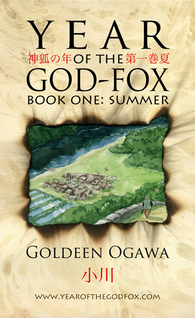 Cover for Year of the God-Fox, Book One.