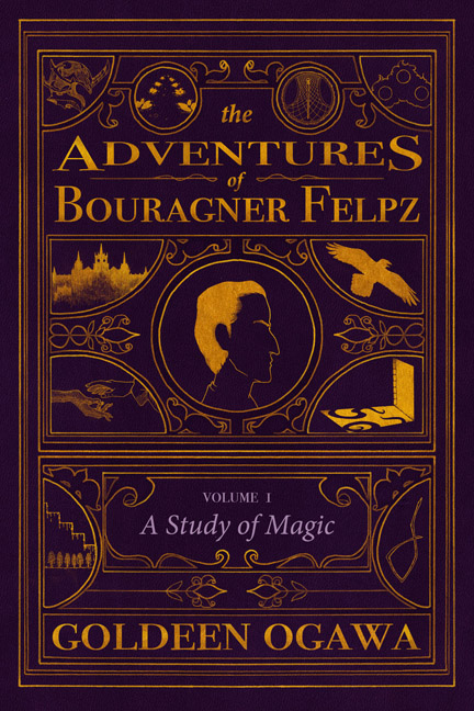 Cover for The Adventures of Bouragner Felpz, Volume I. Coming in August 2013 from Heliopause.